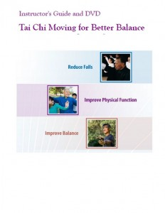 tai chi moving for better balance instructor guide and dvd